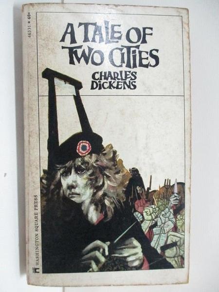 【書寶二手書T2/原文小說_AIU】A Tale of Two cities_Edgar Johnson