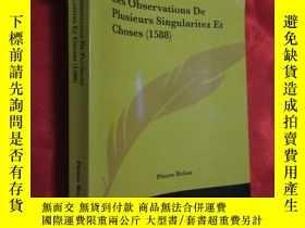 二手書博民逛書店Les罕見Observations De Plusieurs Singularitez Et Choses(158