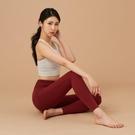 【南紡購物中心】【VITASTYLE】ARZE棉感瑜珈褲_梅洛色