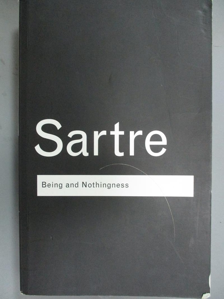 【書寶二手書T8/大學社科_WEN】Being and Nothingness: An Essay on Phenome