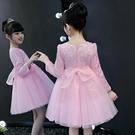 女童內刷毛保暖洋裝 新品兒童洋氣公主裙子 禮服裙