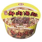 味王紅燒牛肉麵碗85G x3組【愛買】