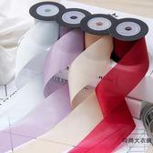 高檔DIY發飾絲帶素色紋理彩帶鮮花禮品包裝緞帶【時尚大衣櫥】