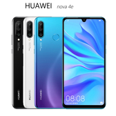 HUAWEI nova 4e 6GB/128GB 後置AI三鏡頭手機~送滿版玻璃貼+軍規保護殼+X7000mAh行動電源
