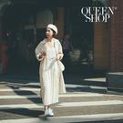 Queen Shop【01084937】下百褶造型細肩帶背心洋裝 兩色售*現+預*