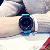 男士手錶簡約潮流手錶男士防水夜光男孩女中學生多功能運動個性電子錶 電購3C
