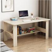 電腦桌電腦桌書桌家用簡易臺式桌學生學習寫字桌臥室簡約現代辦公小桌子 曼莎時尚LX