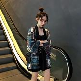 雪紡衫外套日式和風開衫和服女改良中國風復古山本夏正裝傳統上衣
