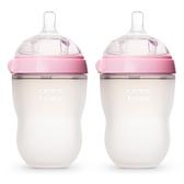 comotomo 矽膠奶瓶二入250ML(粉紅色)