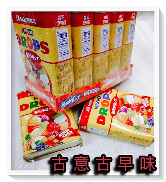 古意古早味 多樂福水果糖 (5罐裝/每罐180公克) 懷舊零食 森永 水果口味 另有 台灣水果 口味 糖果