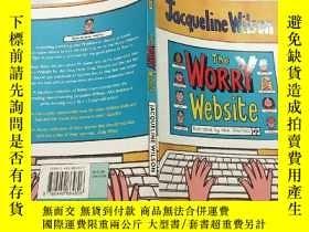 二手書博民逛書店The罕見Worry Website:擔憂網站..Y200392
