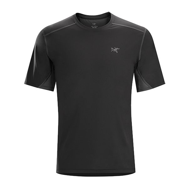 Arc'teryx 加拿大 始祖鳥 男 Accelero 快乾短袖圓領衫『碳黑』L06363 吸濕排汗透氣T-shirt短袖運動衫