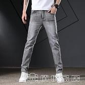 牛仔褲男 潮流新款男士彈力修身直筒牛仔褲男潮流時尚牛仔褲17 【母親節特惠】