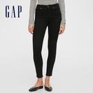 Gap女裝 時尚中腰五袋內搭褲 624131-黑色