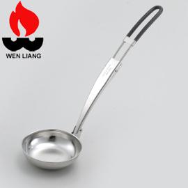 【Wen Liang 文樑 摺疊式湯匙 單隻】ST-2016/摺疊式湯匙/摺疊式/不銹鋼湯匙/304不銹鋼