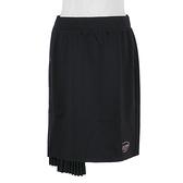 Skechers [L321W098-0018] 女 短裙 休閒 簡約 舒適 穿搭 百搭 柔軟 黑
