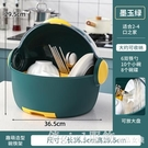碗櫃 廚房瀝水碗櫃餐具收納盒碗筷碗碟置物架家用台面碗架用品大全 俏girl
