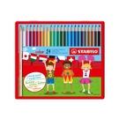 STABILO 德國 思筆樂 color 炫彩樂色鉛筆 24色組 / 盒 1824-77