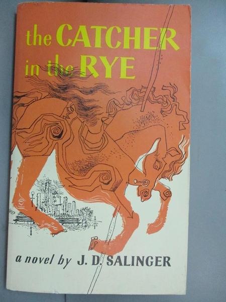 【書寶二手書T6/原文小說_OPF】The Catcher in the Rye_Salinger