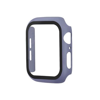 PC硬殼 Apple Watch 蘋果錶殼 4 5 6 SE 9H鋼化膜 一體式 防摔保護套 iwatch 保護殼