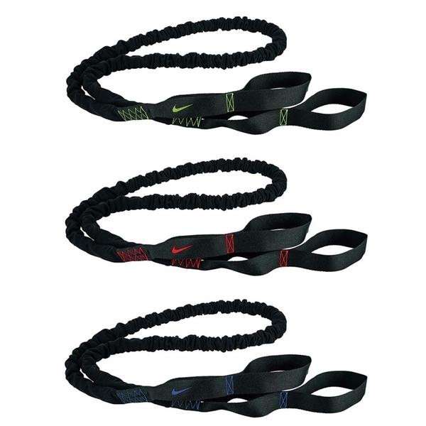 NIKE 抗阻力彈繩 輕/中/重量級 彈力繩 在家重訓 運動器材 N00000【樂買網】