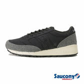 SAUCONY JAZZ 91 經典復古鞋款-黑x灰