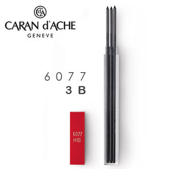CARAN d\'\'ACHE 瑞士卡達 Leads 自動鉛筆芯 2.0工程筆蕊(3入).3B / 盒