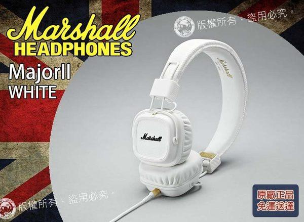 【小麥老師 樂器館】最新款 免運優惠 Marshall Major II White 白色 英國大廠 耳罩式耳機 耳機