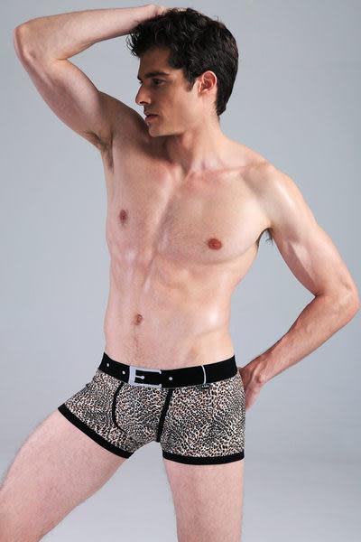 *免運*【Sexy cat】性感系列豹紋 性感平口褲/內褲(豹紋) M-XXL