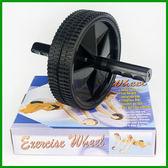 健美輪(金屬管心)(健腹輪/健腹器/金屬鋼管/雙輪式/一盒1入裝)