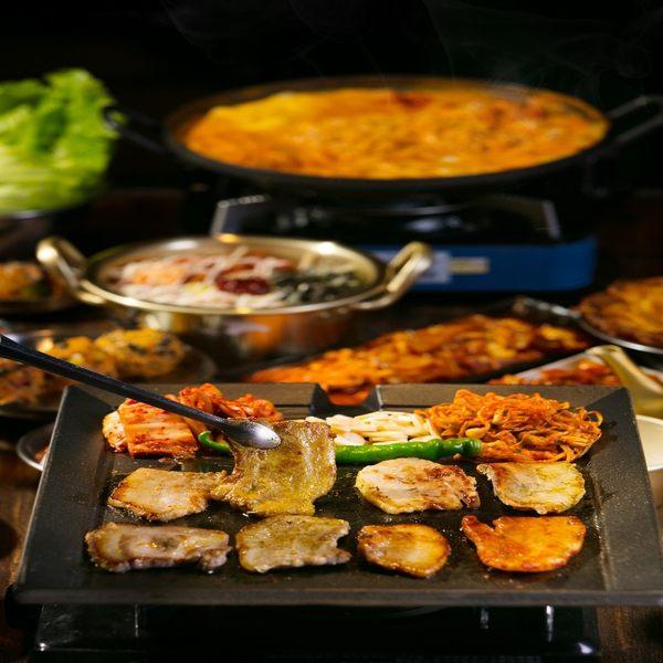 台中 啾哇嘿呦 韓式烤肉 吃到飽 雙人券