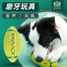 狗狗玩具發聲橄榄球大小型犬磨牙耐咬幼犬寵物【小獅子】