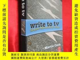 二手書博民逛書店Write罕見to TV: Out of Your Head a