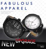☆匠子工坊☆【UK0115】CURREN 最新設計時尚簡約大錶徑 鋼槍質感 大小刻度帶日期 紳士男錶