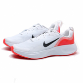 NIKE 慢跑鞋 WEARALLDAY 白 橘 黑LOGO 訓練 運動 女 (布魯克林) CJ3816-100