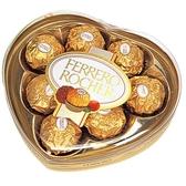 金莎巧克力心型盒裝8粒【愛買】
