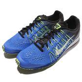 【六折特賣】Nike 競速跑鞋 Lunarspider R 6 藍 黑 白 路跑專用 輕量 賽跑 男鞋 【PUMP306】 806553-410