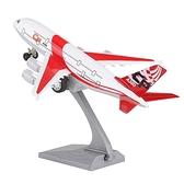 飛機模型 合金小飛機民航空軍客機波音777航模兒童玩具回力模型擺件戰斗機【快速出貨八折下殺】