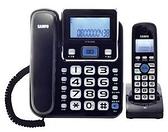 ^聖家^聲寶2.4GHz高頻數位無線電話~黑 CT-W1304DL【全館刷卡分期+免運費】