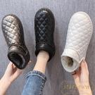 雪地靴女皮毛一體秋冬短筒短靴加厚面包棉鞋【繁星小鎮】