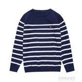 兒童毛衣南極人男童毛衣新款針織衫中大童秋冬款套頭兒童線衣春秋童裝多莉絲旗艦店