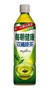 每朝健康雙纖綠茶 650ml/單瓶【合迷雅好物超級商城】