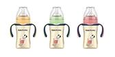 史努比SNOOPY 小哈利寬口方底PPSU奶瓶-260ml通用小獅王寬口奶嘴與貝親寬口奶嘴