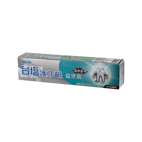 台鹽護牙齦益牙周牙膏140g【愛買】