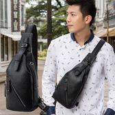 男士胸包休閒包男側背包運動單肩包男背包包潮流男包時尚      聖誕節快樂購