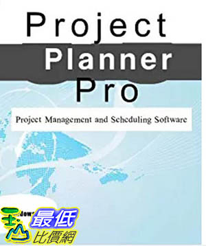 [106美國暢銷兒童軟體] Project Planner Professional Project Management and Scheduling Software
