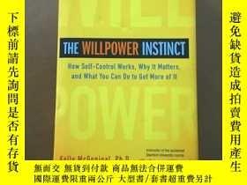 二手書博民逛書店The罕見Willpower Instinct(自控力 16開精