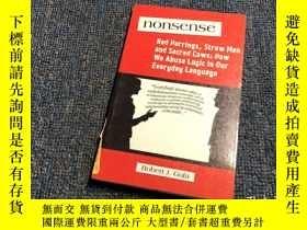 二手書博民逛書店Nonsense:A罕見Handbook of Logical