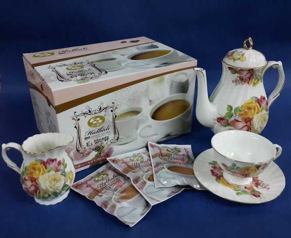 (限定 全家取貨付款)【品皇咖啡】哈拉里白咖啡即溶三合一咖啡, 38g*68入 量販盒裝
