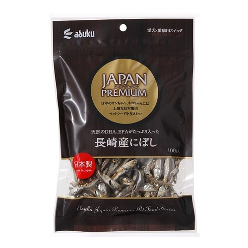 寵物FUN城市│日本Japan Premium 長崎小魚乾100g (小魚干 魚乾 貓咪零食 寵物零食)